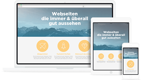 Responsive Webdesign von new morning.