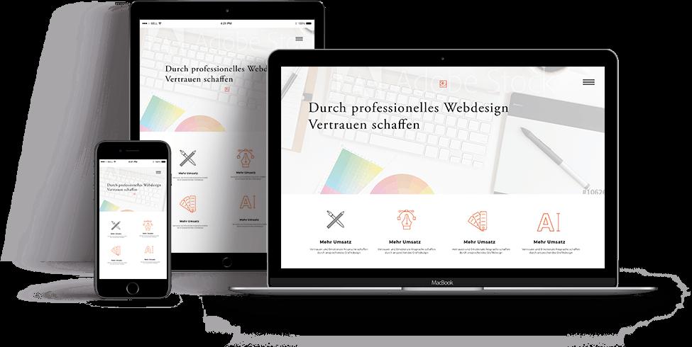 professionelles und individuelles Webdesign vom erfahrenen Webdesigner aus Berlin